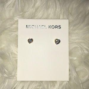 Michael Kors Heart Shaped Earrings